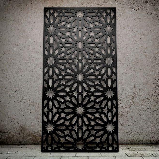Glas Dekorplatte / Für Abgehängte Decken / Zur Außenraumgestaltung /  Wandmontiert   STAR FLOWER