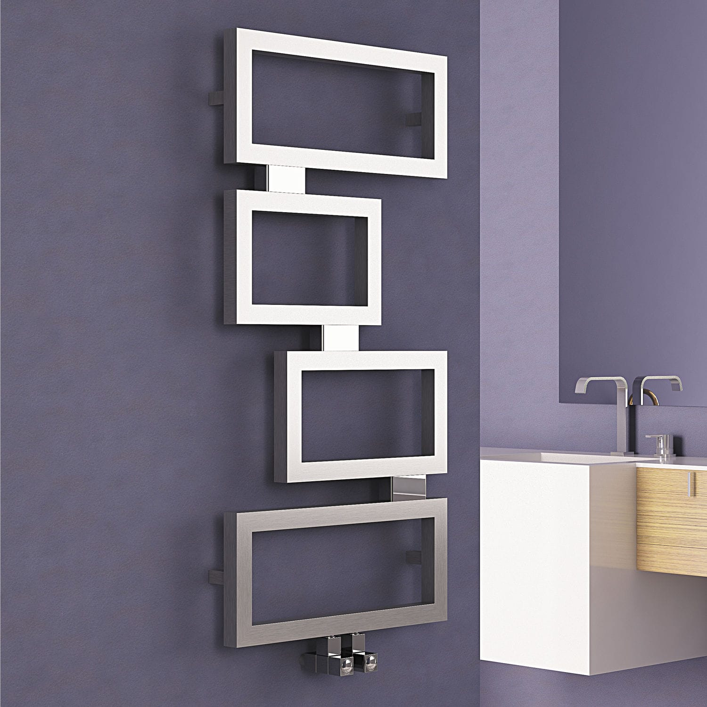 heißwasser-heizkörper / edelstahl / modern / für badezimmer ... - Heizkörper Für Badezimmer