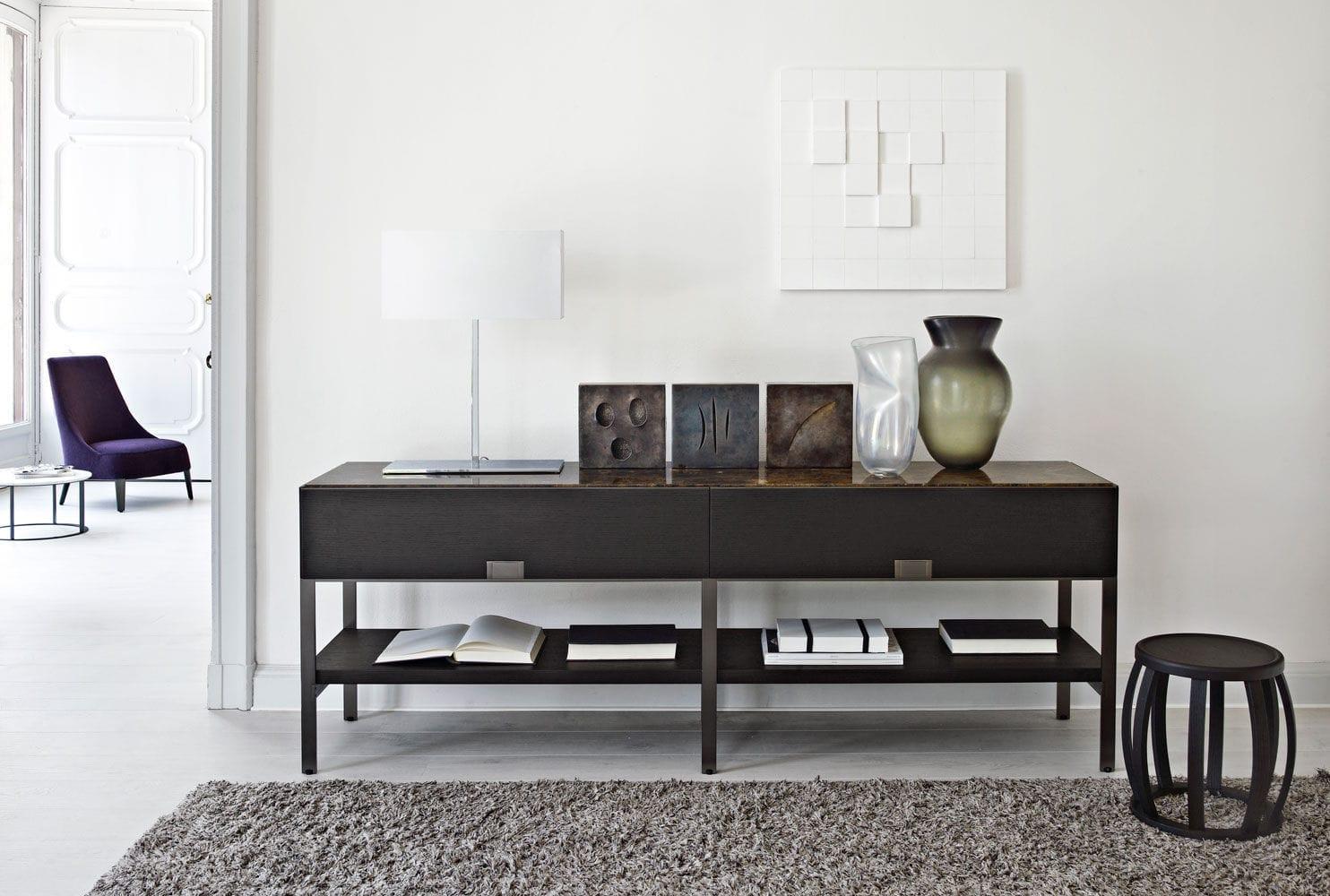 Exquisit Konsolentische Modern Dekoration Von Moderner Konsolentisch / Massivholz / Rechteckig /