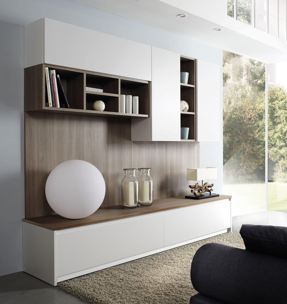 Moderne Küche / Holz / Melamin / L-förmig - JOLIE - Aurora ...