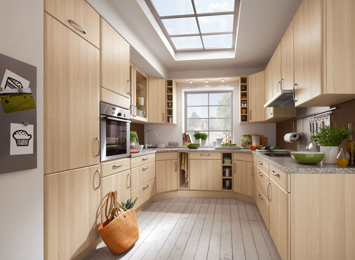 Moderne Küche / Holz / aus Massivholz - GRADO 541 - nobilia