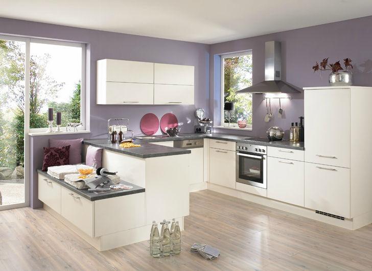 Moderne Küche / Holz / lackiert / matt - PIA 605 - nobilia
