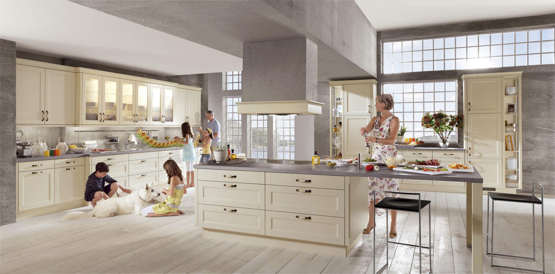 Moderne Landhausküche Nobilia | kochkor.info