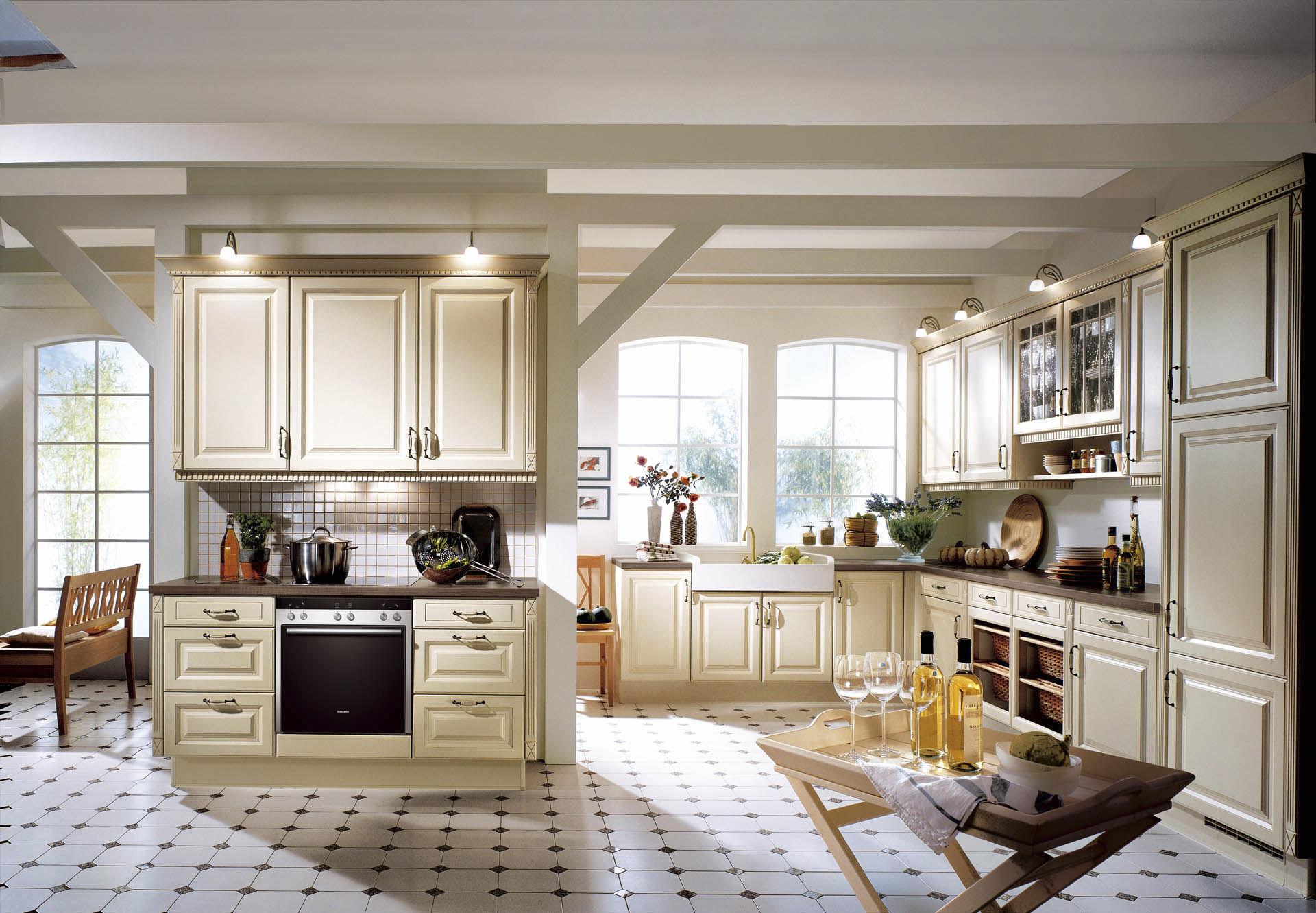 Moderne landhausküche nobilia  Moderne Küche / Holz / lackiert / mit Griffen - CASTELLO 397 - nobilia
