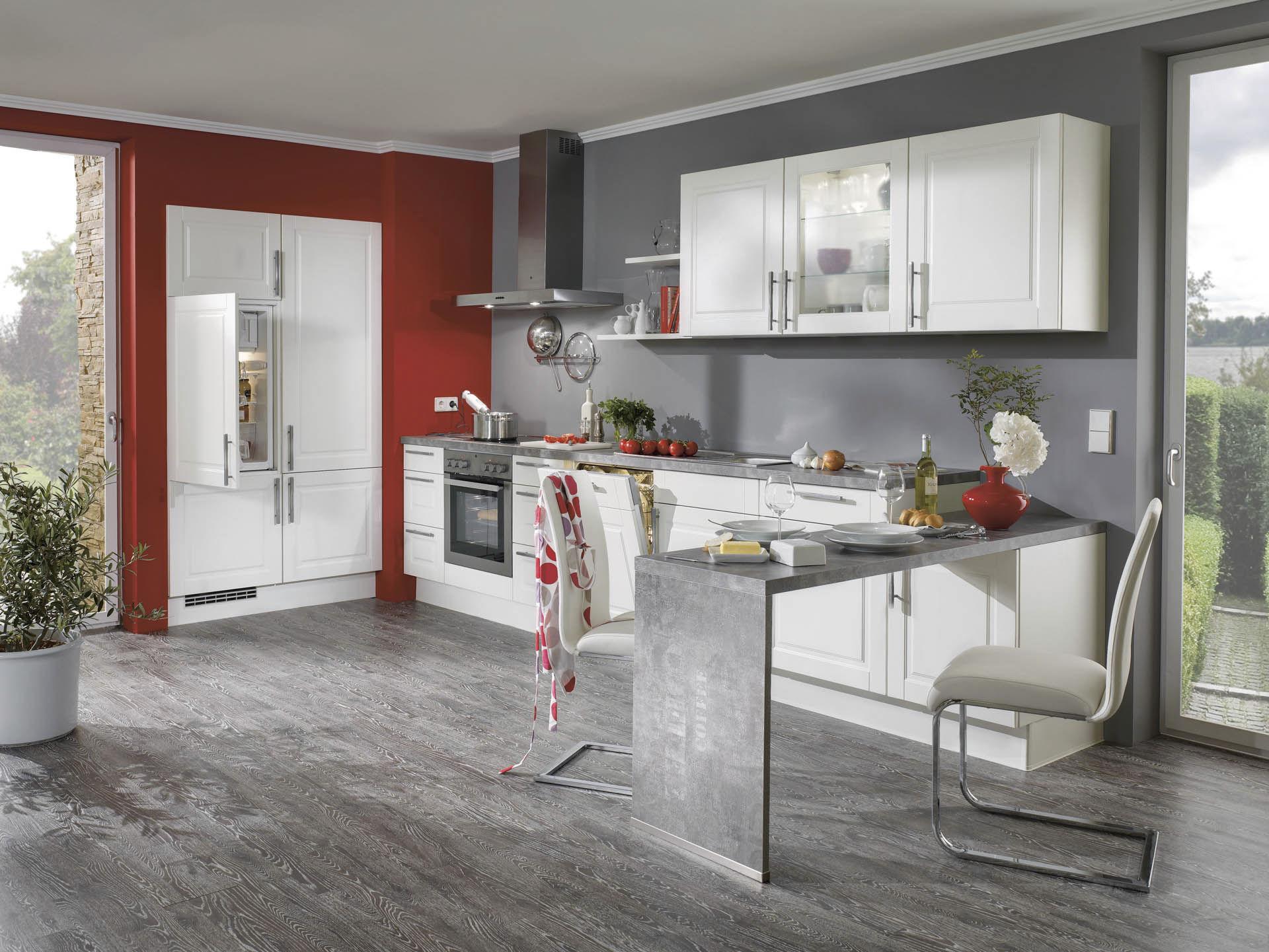 Moderne Küche / aus Marmor / lackiert - AVIANO 471 - nobilia