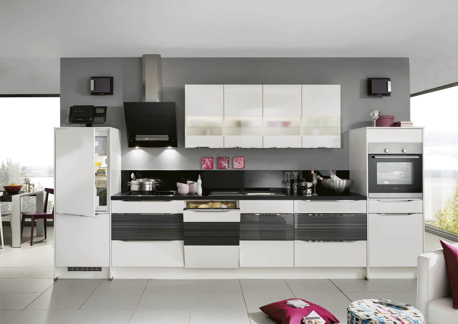 Emejing Küche Ohne Griffe Pictures - Farbideen fürs Wohnzimmer ...