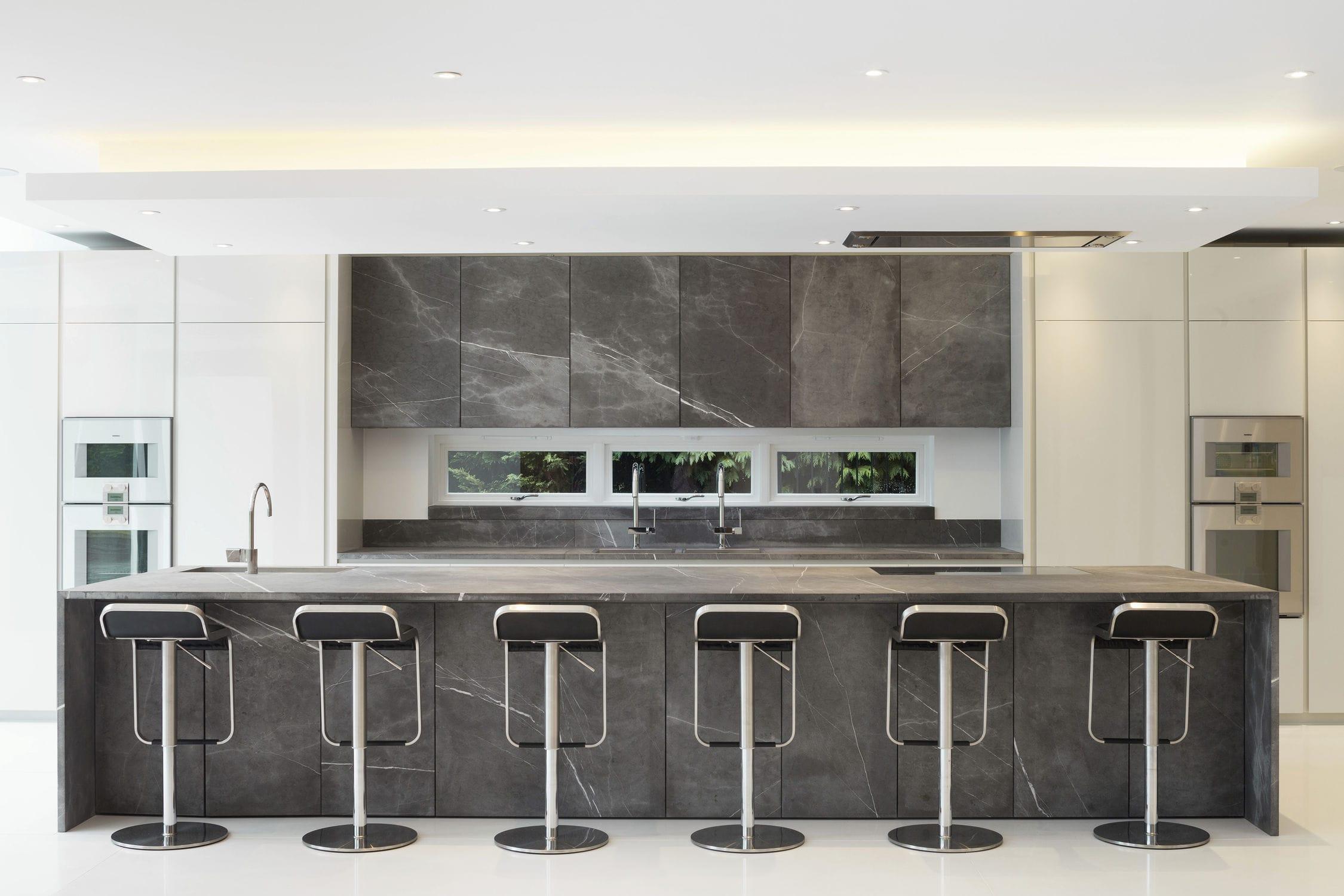 kuche mit kochinsel tm italien, moderne küche / stein / kochinsel / ohne griff - 201212, Design ideen
