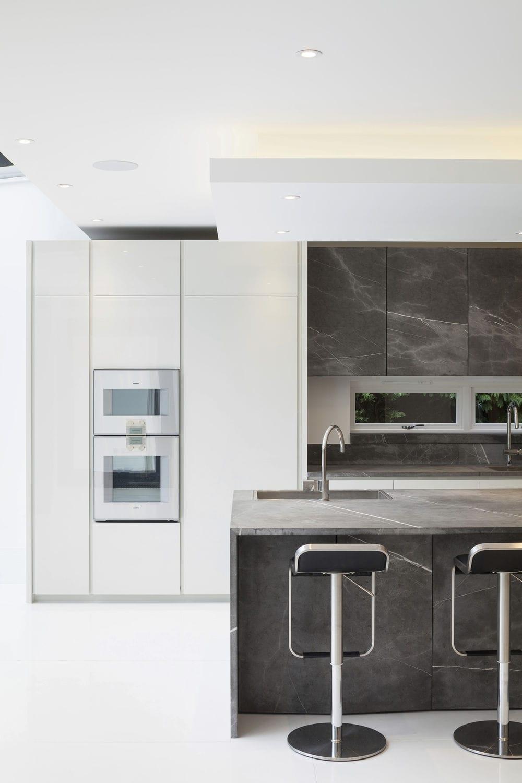 Moderne Küche / aus Stein / Kochinsel - 201212#01_T45_PIETRA DI ...