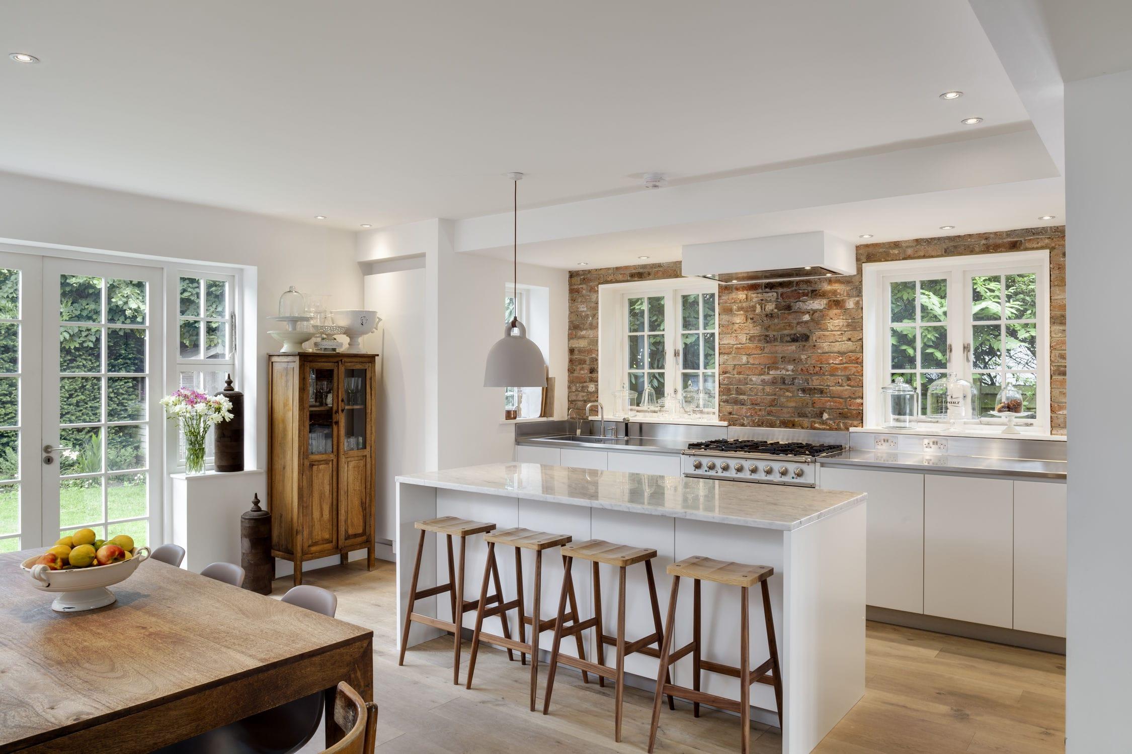 Moderne Küche / Stein / Kochinsel / ohne Griff - 201311 – UNA CUCINA ...