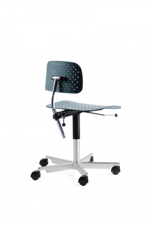Kevi Bürostuhl moderner bürostuhl mit rollen sternförmiger fuß polster kevi