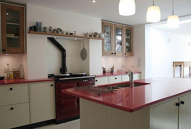 Verbundwerkstoff-Arbeitsplatte / Glas / Küchen / recycelt - S-0431 ...