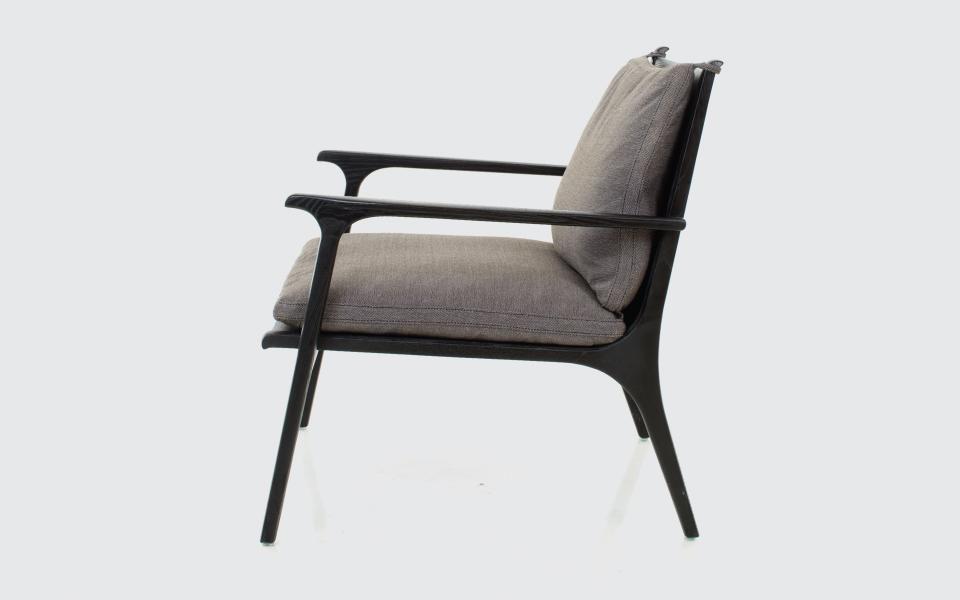 Sessel Skandinavisches Design Massivholz Laminat Ren By