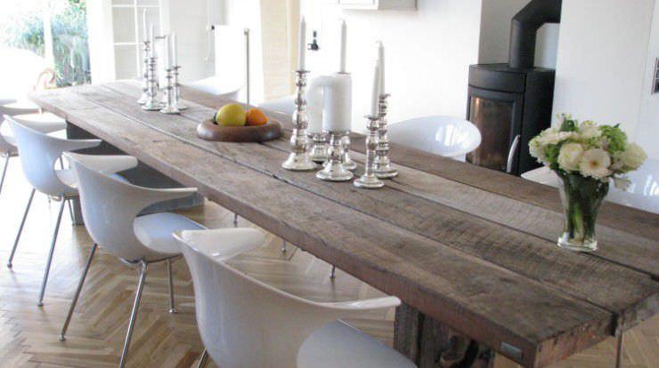 Moderner Esstisch / Holz / Stahl / Oval - Gaia - Thors Design