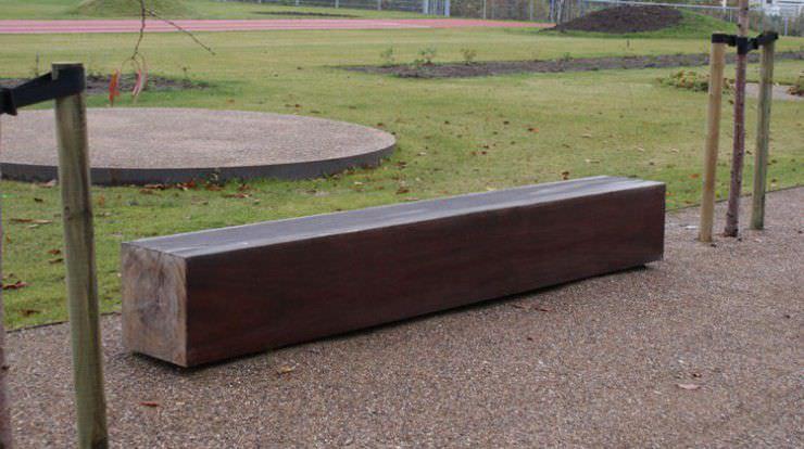 gartenbank / park / modern / holz - gamma - thors design, Garten und erstellen