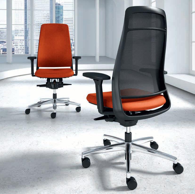 moderner sessel für büro / stoff / drehbar / mit rollen - tensa, Hause deko