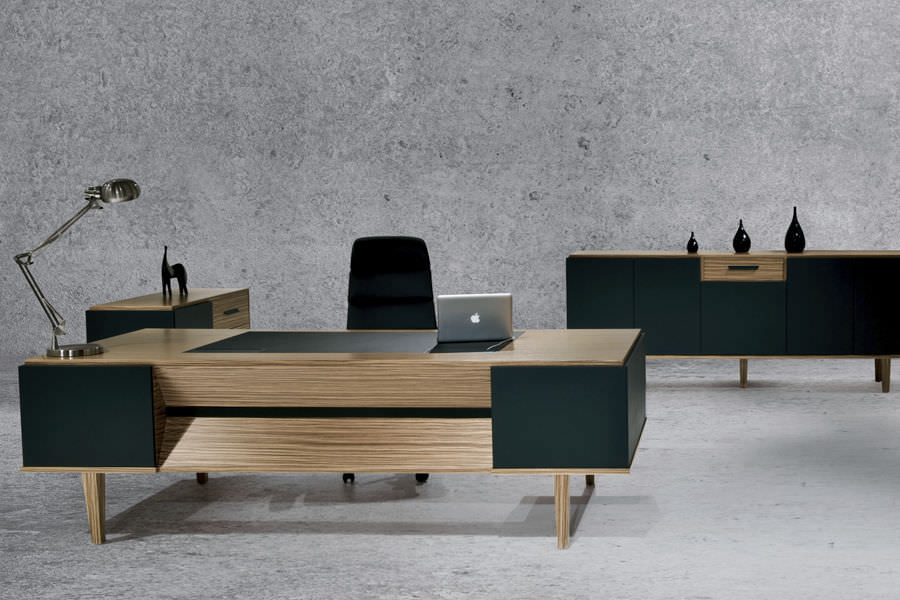 Chefschreibtisch Holz Modern Objektmöbel ERVA SOLENNE Beauteous Modern Wood Office Furniture