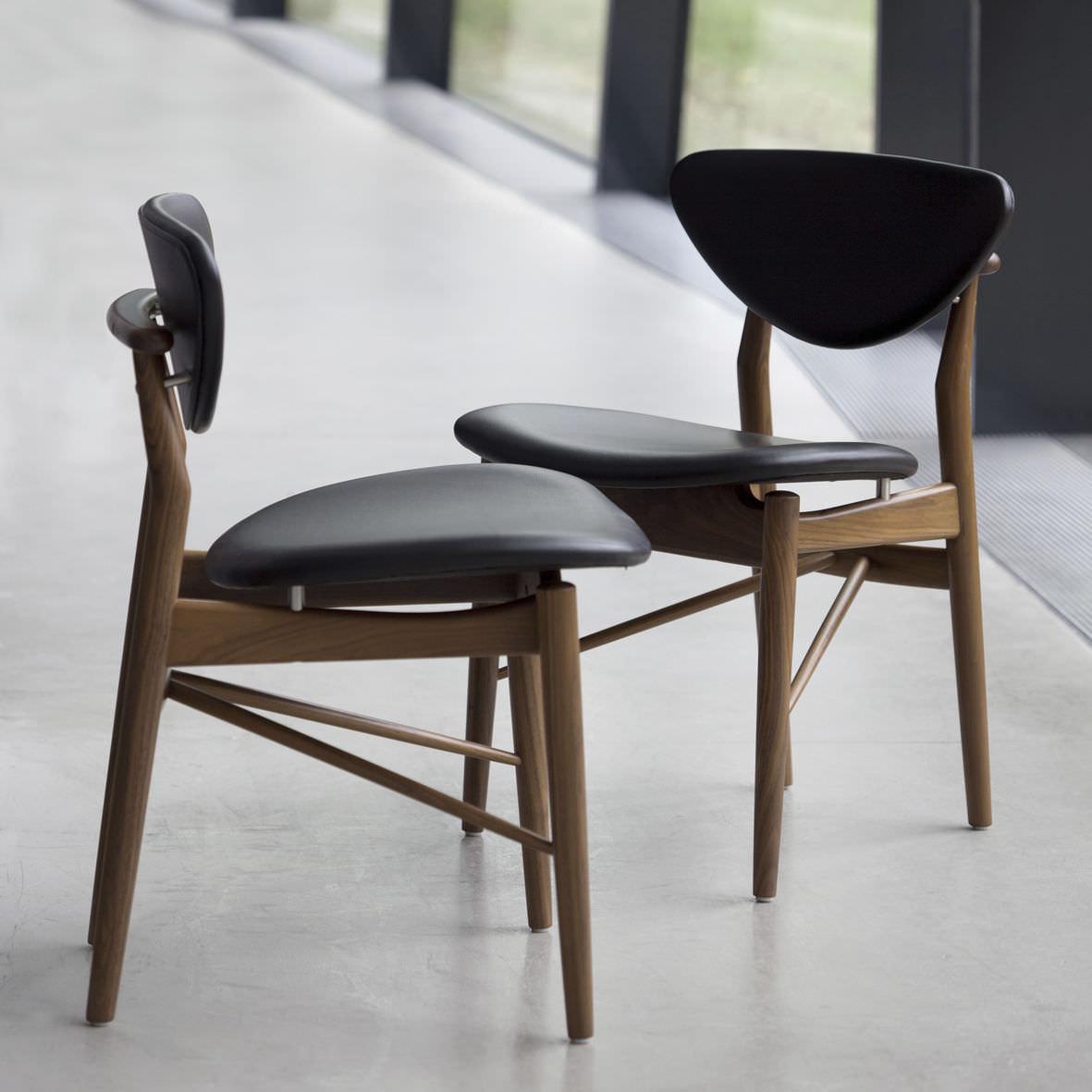 ... Stuhl / Skandinavisches Design / Polster / Stoff / Aus Eiche ...