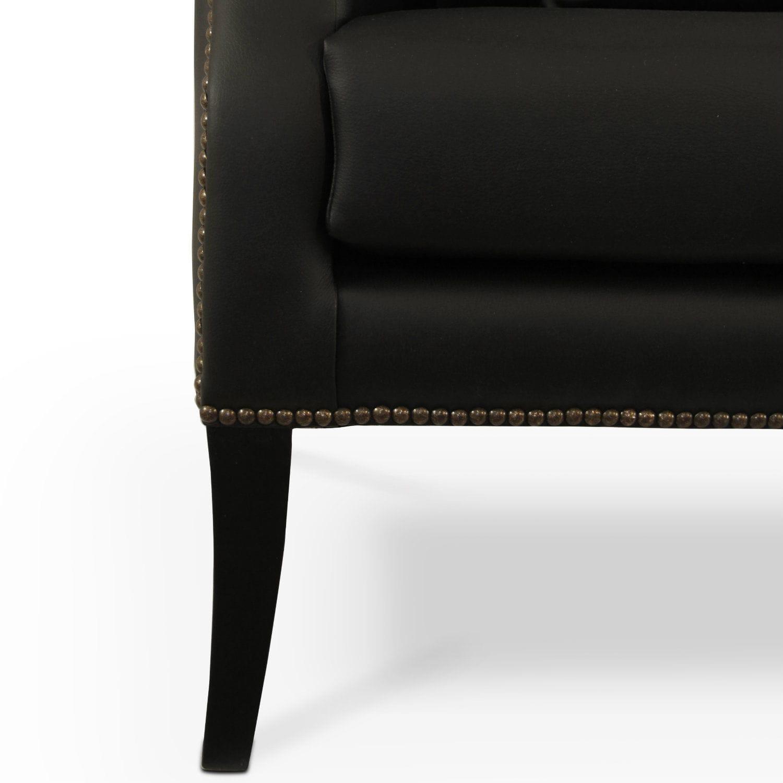 Modernes Sofa / Kunstleder / 2 Plätze / mit hoher Rückenlehne ...