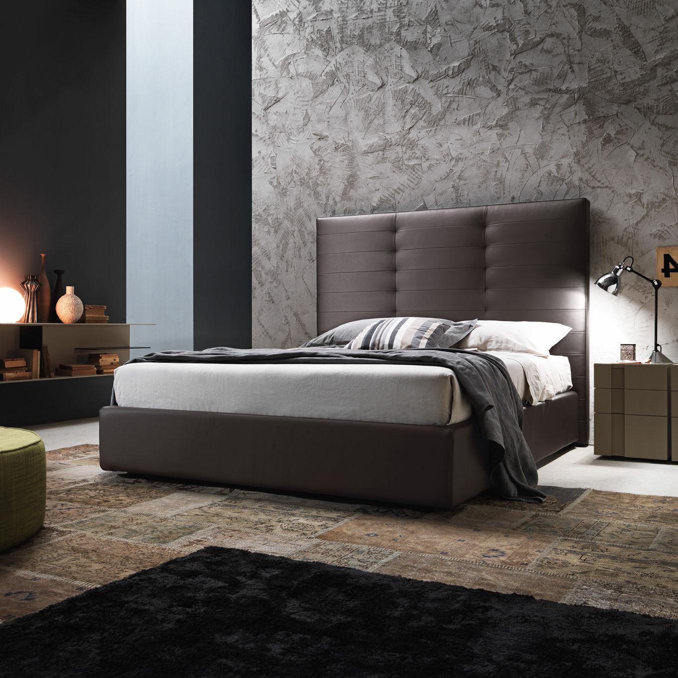 standardbett / doppelt / modern / stoff - wing system_tall - presotto - Moderne Doppelbett Ideen 36 Designer Betten Markanten Namen