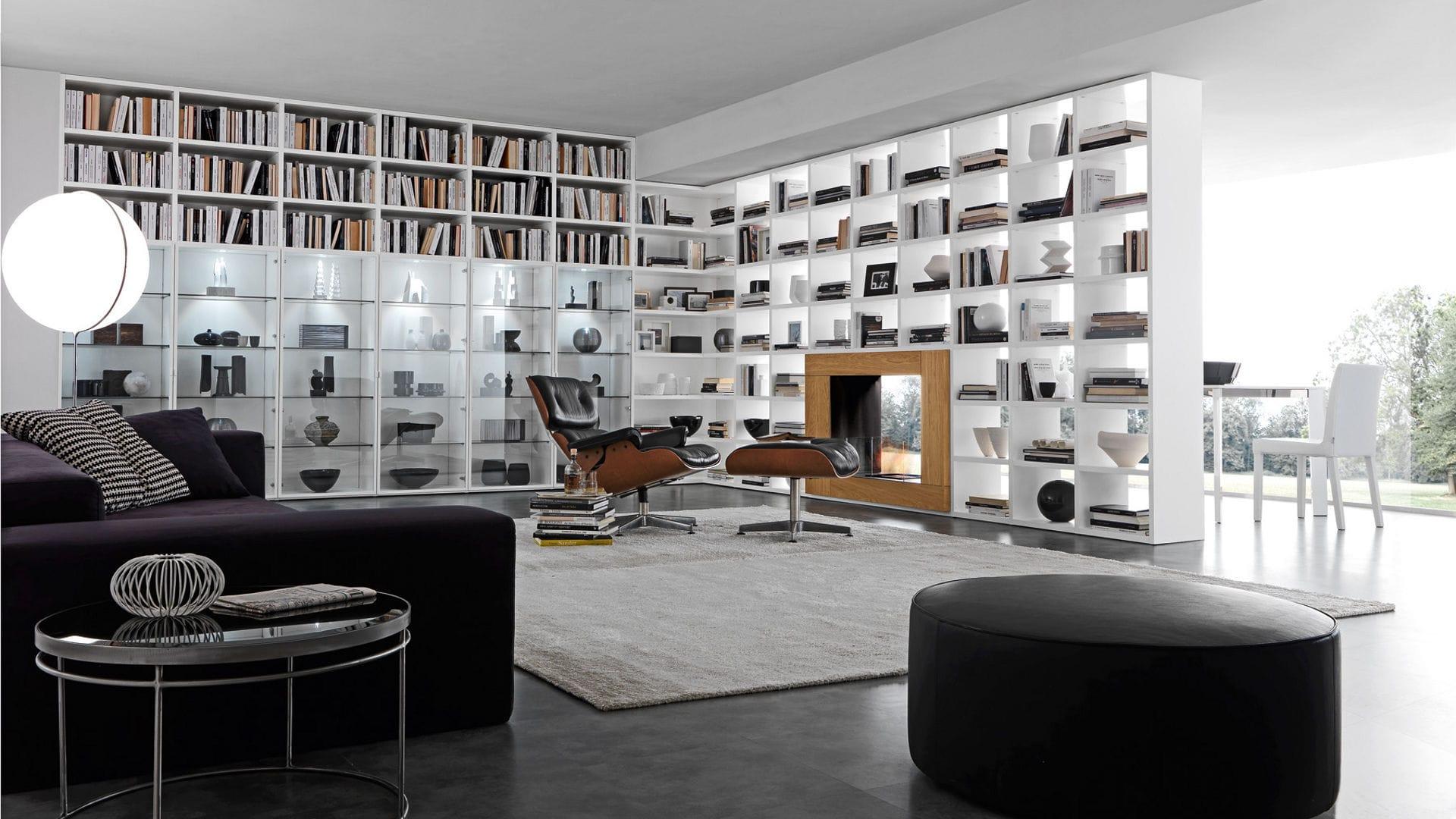 Bucherregal Systeme Presotto Highlight Wohnraum Beautiful ...