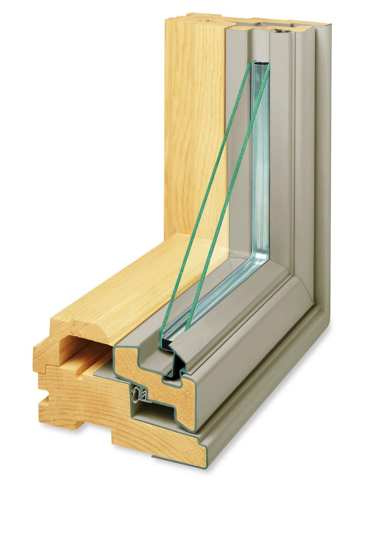 drehfenster / holz / doppelverglasung / energy star - 400, Moderne