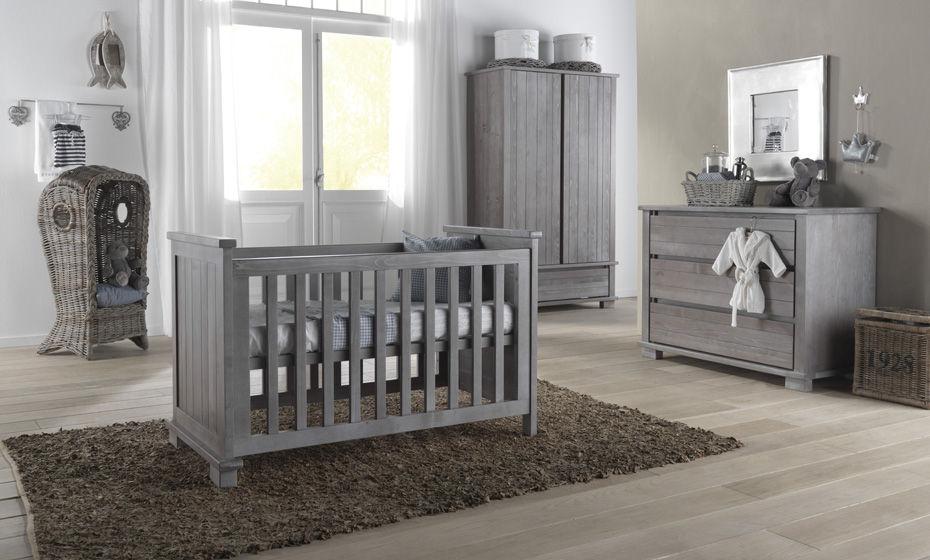 Baby Kinderzimmer / Grau   MALMÖ SMOKED GREY