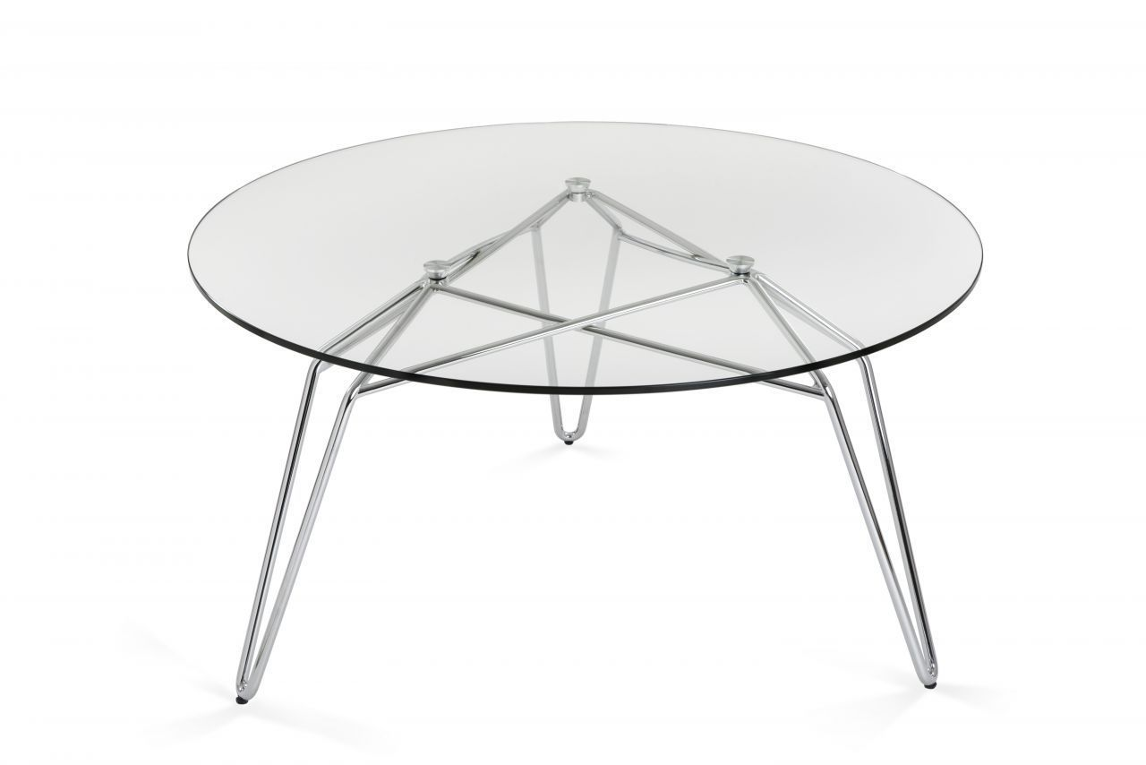 Couchtisch oval glas metall  Moderner Couchtisch / Glas / Metall / oval - DIAMOND COFFEE TABLE ...