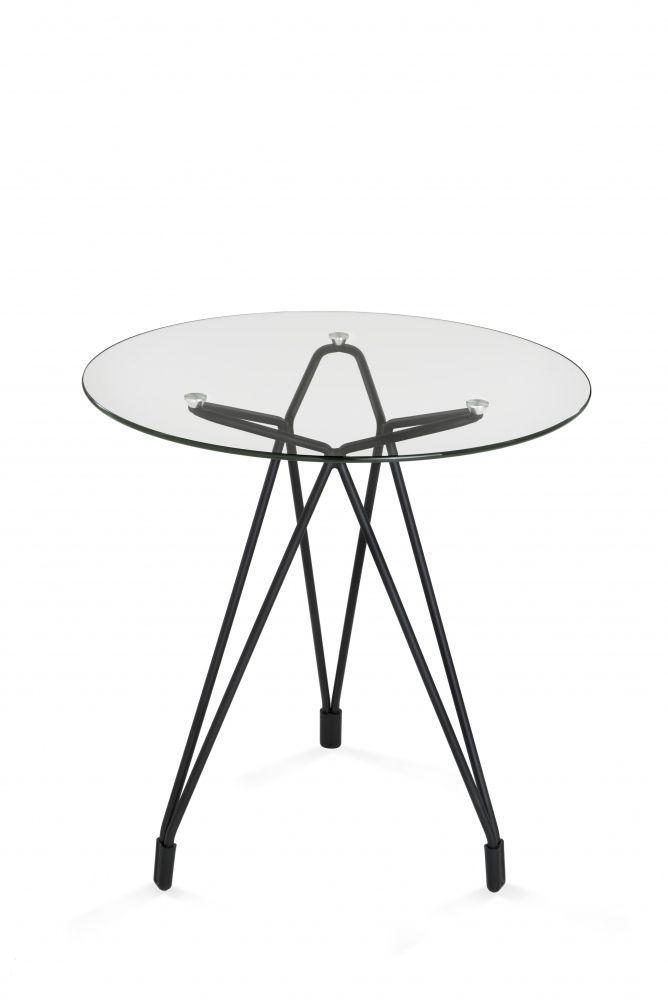 Beistelltisch glas rund  Moderner Beistelltisch / Glas / rund - DIAMOND OCCASIONAL TABLE by ...