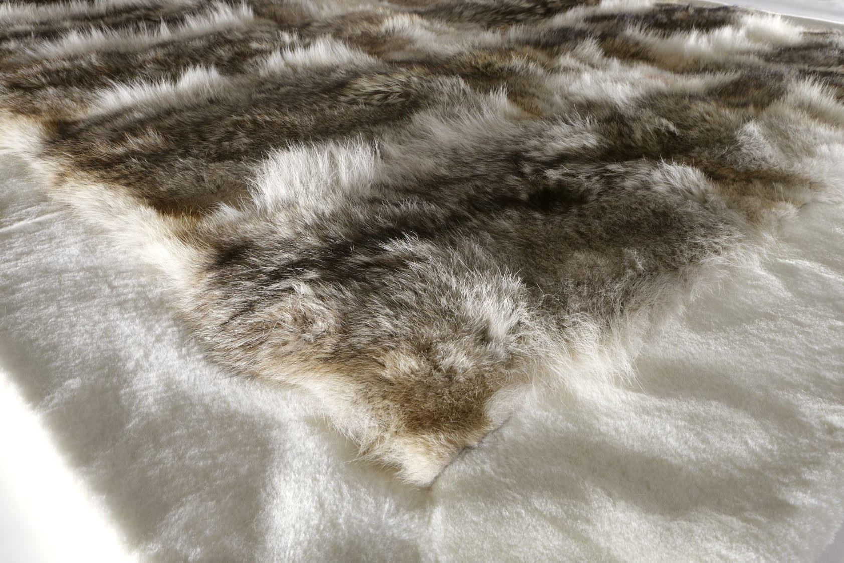 Inspirierend Tierfell Teppich Dekoration Von Moderner / Motiv / Aus / Rechteckig