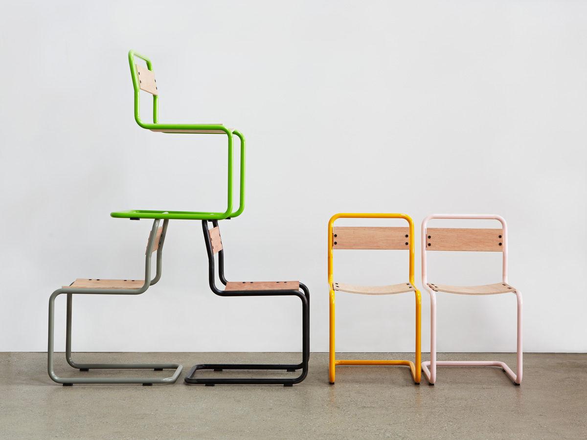 Barhocker Bauhaus stuhl bauhaus design mit überhang holz geformtes sperrholz