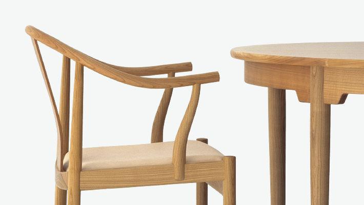 Designer Stühle Holz moderner stuhl mit armlehnen holz hans j wegner the