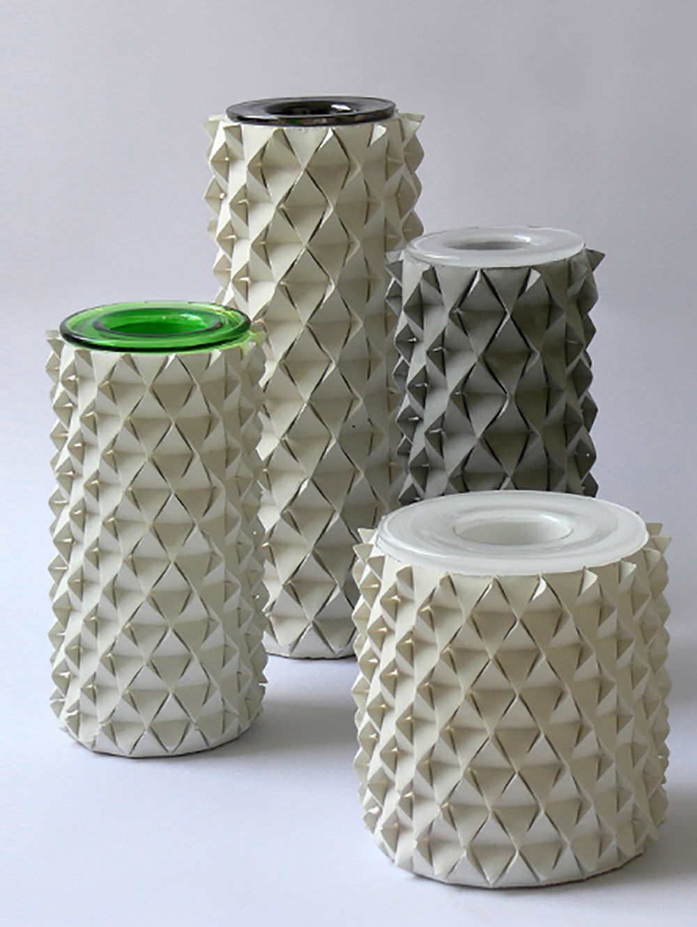 Beton Vase vase originelles design beton palms talent design icons