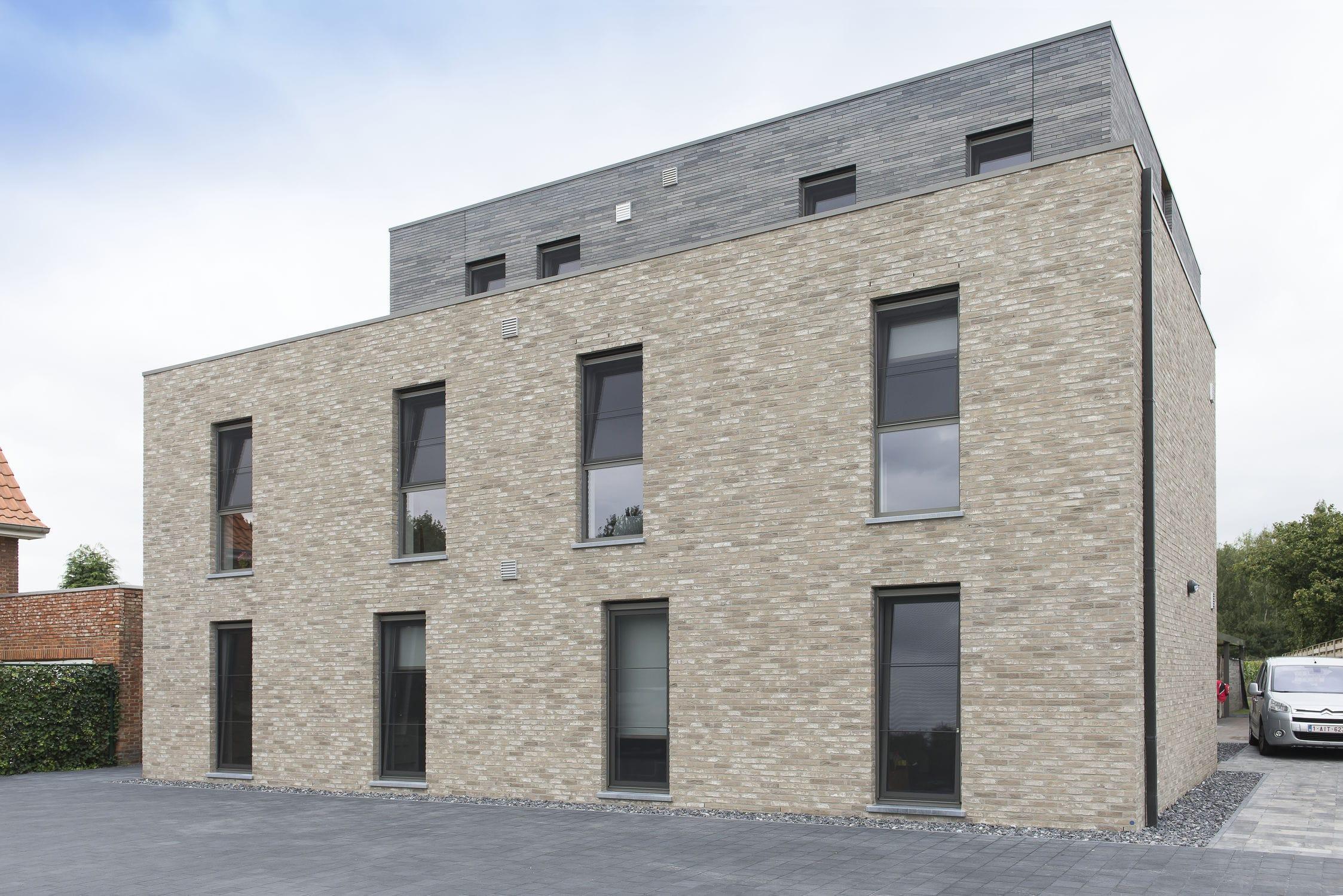 Riemchen Fur Fassaden Grau Handgefertigt Arte Nelissen Bricks