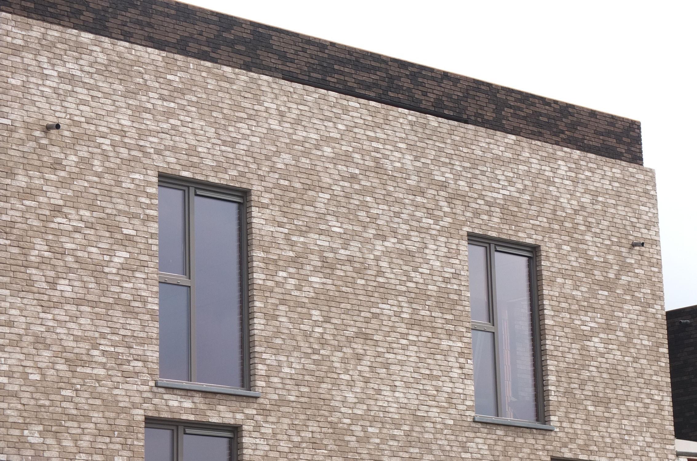 Riemchen Fur Fassaden Grau Handgefertigt Zola Nelissen Bricks