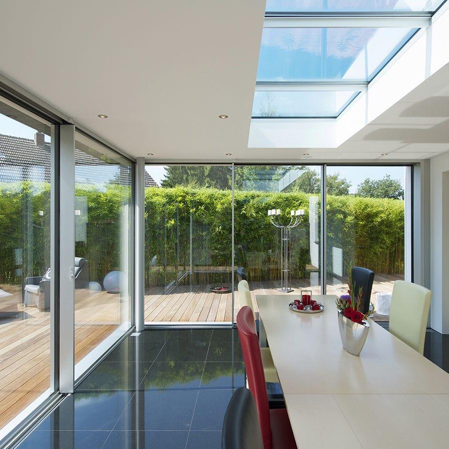 Glas-Wintergarten / Aluminium - GLASSHOUSE - KELLER