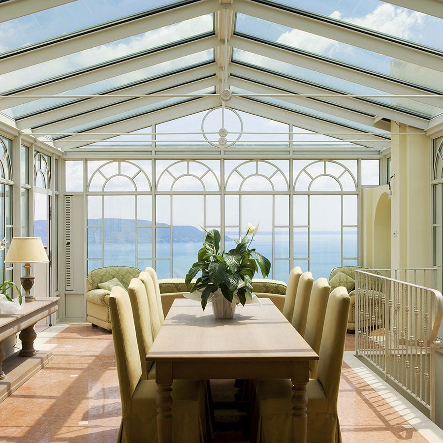 Glas-Wintergarten / Aluminium - IMPERIAL & TOSCANA - KELLER