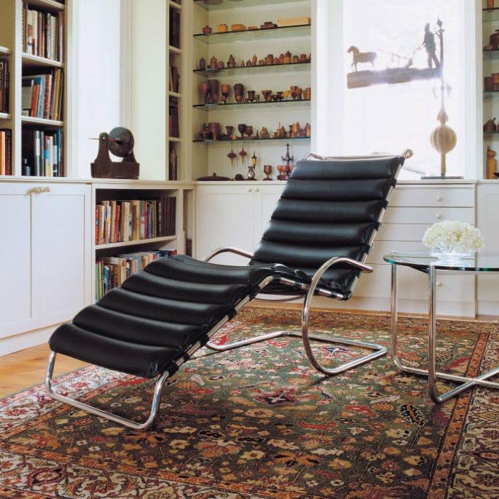 Liege Bauhaus Design Leder Stahl Von Ludwig Mies Van Der