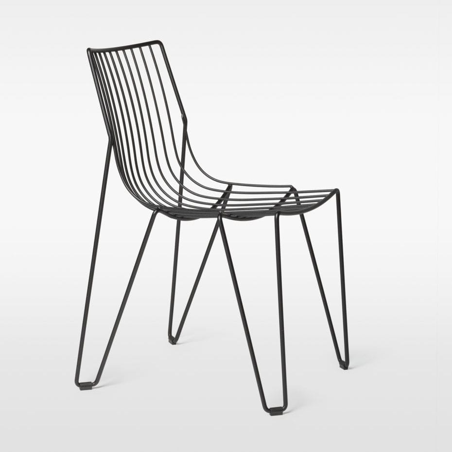 Gartenstuhl metall  Moderner Gartenstuhl / Stapel / Metall - TIO - Massproductions