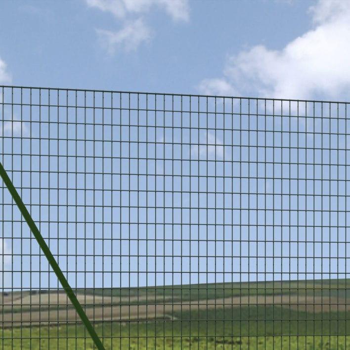 Gartenzaun / Maschendraht / verzinkter Stahl - EXECUTIVE STANDARD ...
