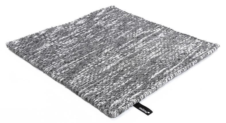 Teppich quadratisch  Moderner Teppich / uni / Wolle / quadratisch - AMPERSAND : ID 1436 ...