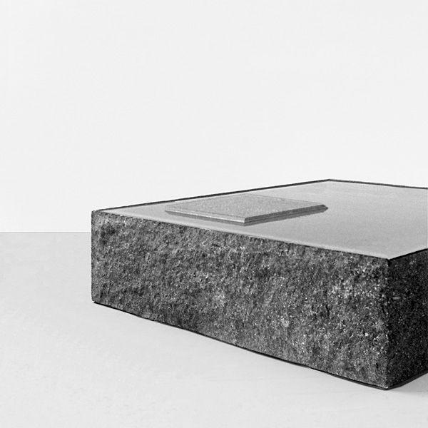 Moderner Couchtisch Stein Quadratisch Innenraum Csgs401 By
