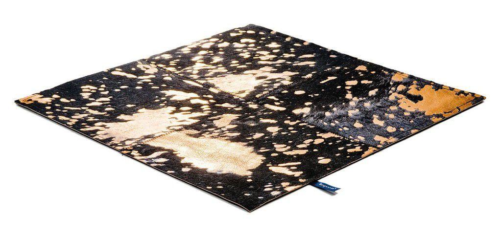 Hochflorteppich azurrblau Wohnzimmer Einrichtungsideen kymo