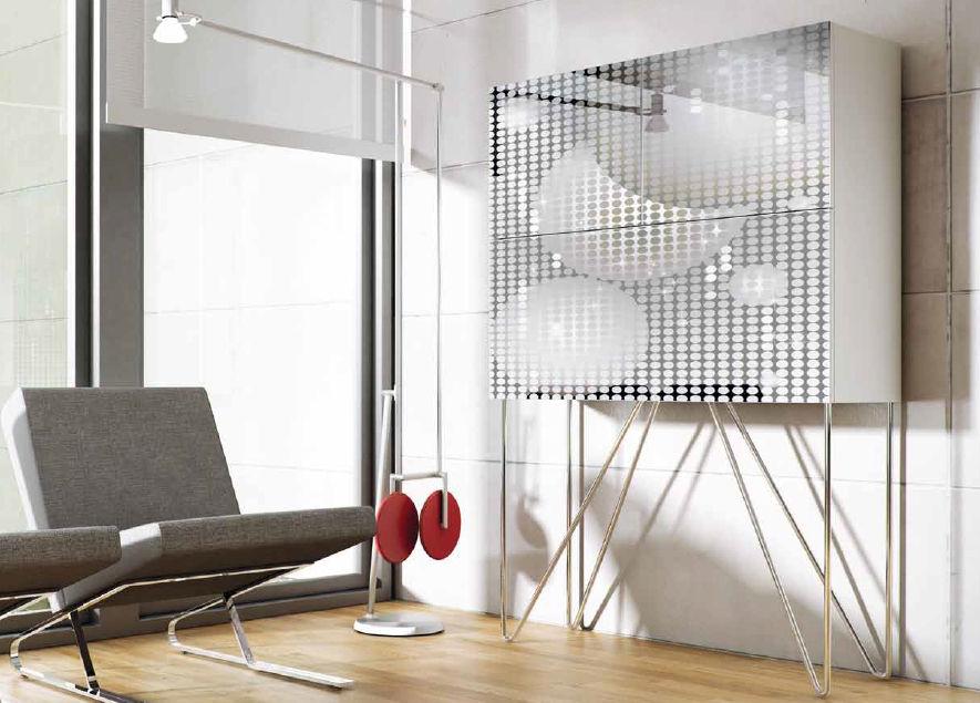 Moderner Barschrank / lackiertes Holz - FEVER - Vettas Mobiliario