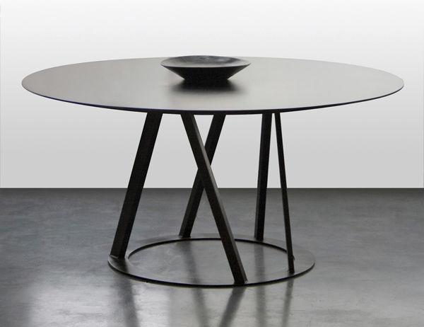 Awesome Moderner Tisch Metall Rund Recycelbar With Bistrotisch Metall Rund