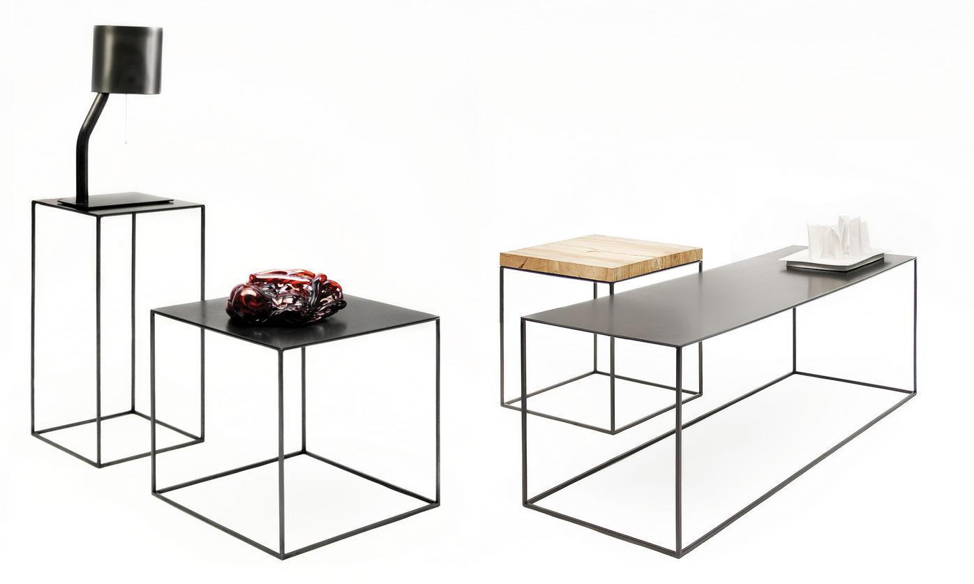 Beistelltisch metall  Moderner Beistelltisch / Metall / rechteckig - SLIM IRONY by ...