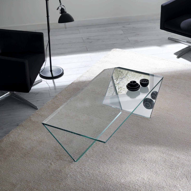Moderner Couchtisch / Glas / rechteckig / Innenraum - TI by Gonzo ...