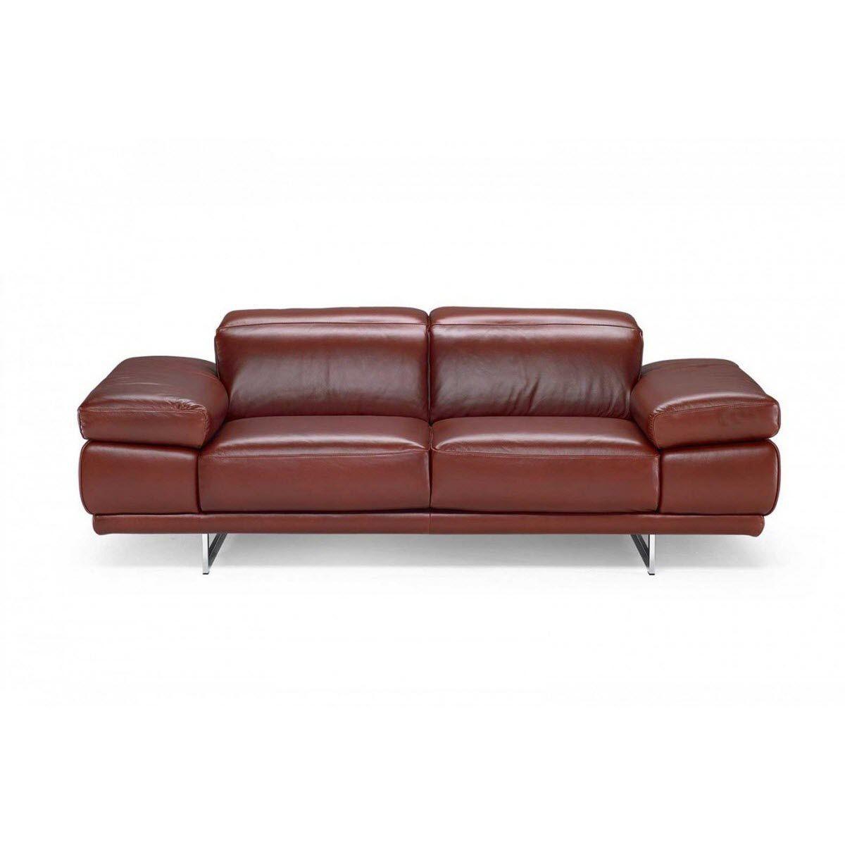 Modulierbares Sofa / modern / Leder / Stoff - PRELUDIO - NATUZZI