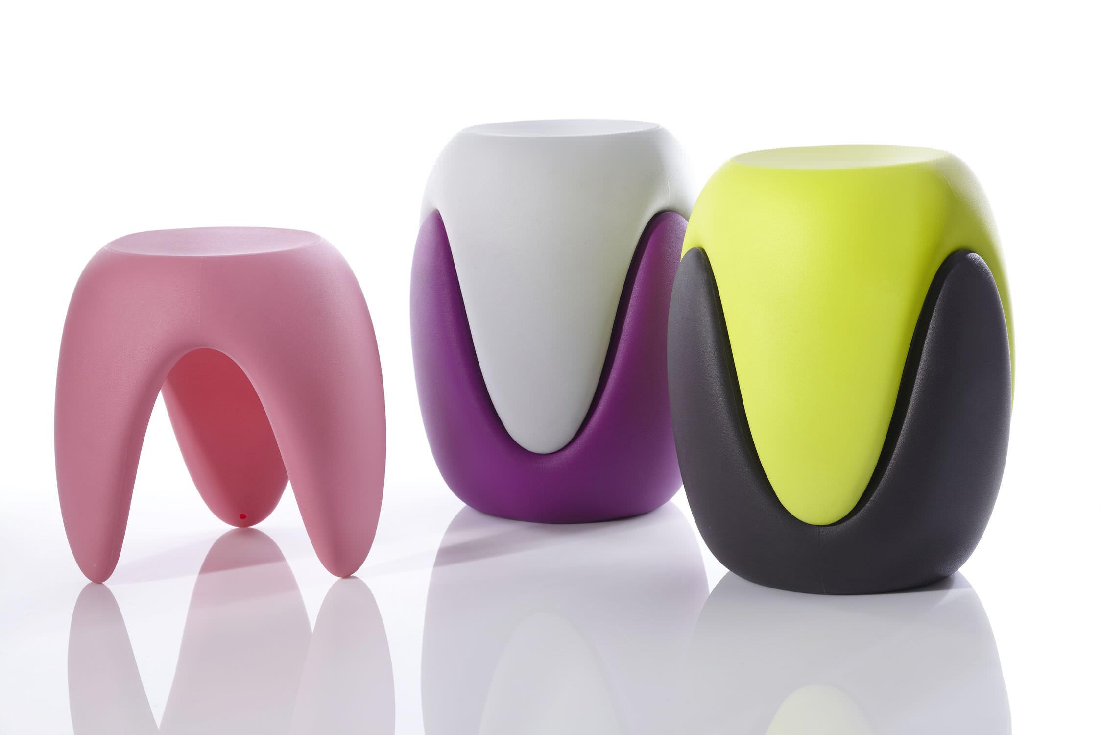 Design Hocker Kunststoff | Dekoration Ideen