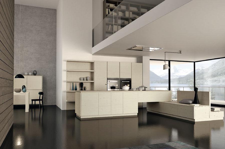 moderne küchen mit kochinsel holz | ambiznes, Attraktive mobel