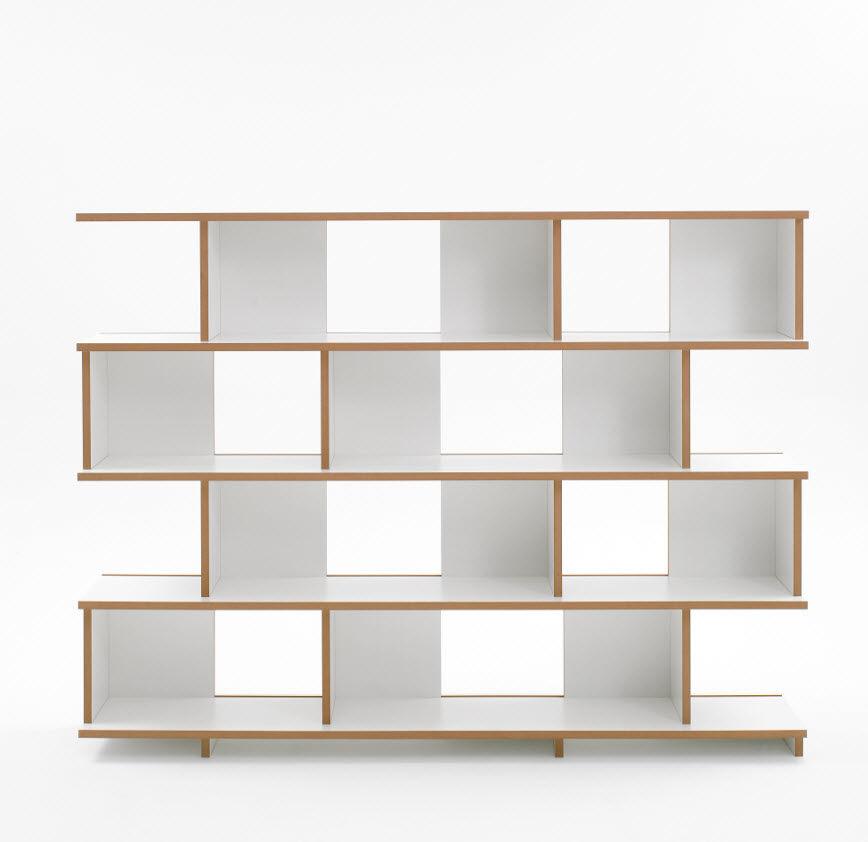 Bücherregale Modern freistehendes design bucherregal design